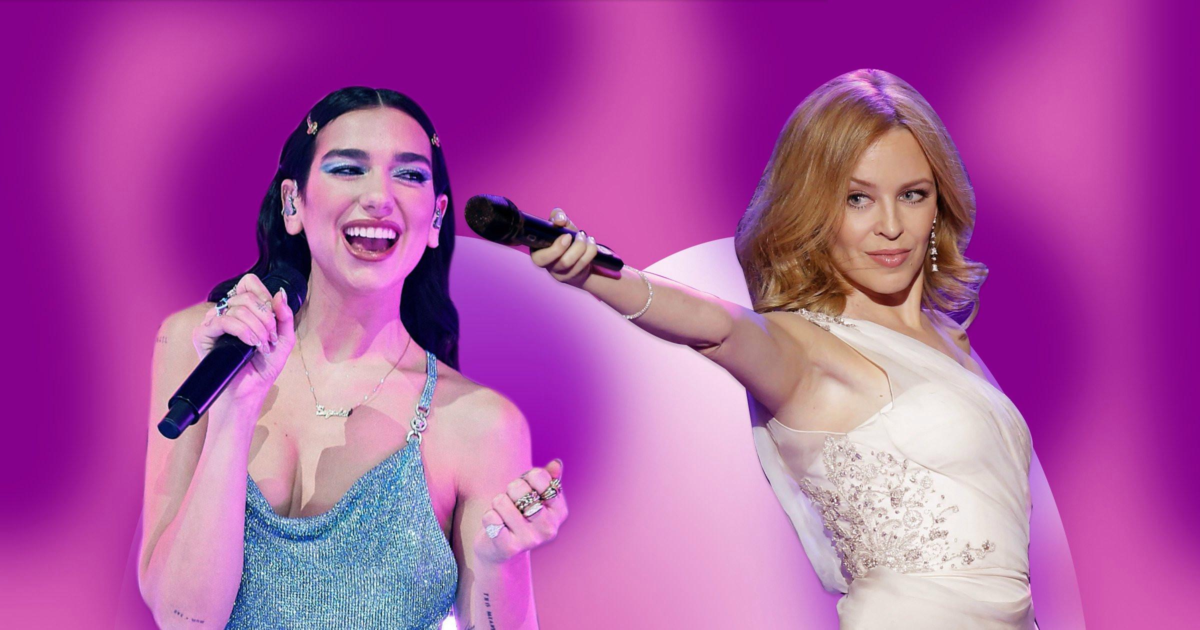 Kylie Minogue y Dua Lipa,se fusionan