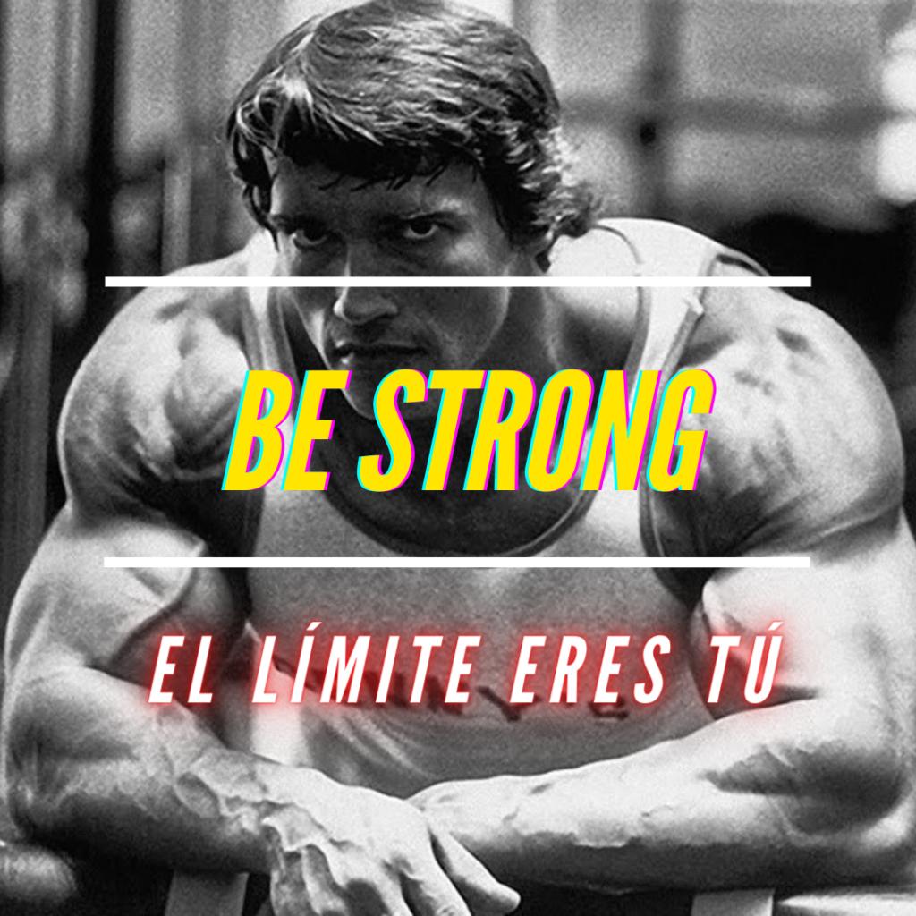 Calum Von Moger, Be Strong la mejor pagina relacionado con el mundo fitness