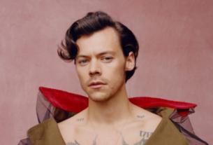 Harry Styles hace historia en Vogue