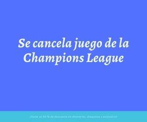 Se cancela juego de la Champions League por insulto racista
