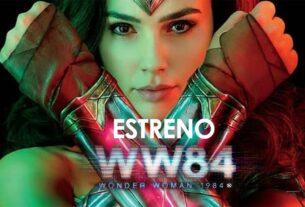 En tan sólo una semana Wonder Woman 1984 se encontrará en las salas de cine de nuestro país.
