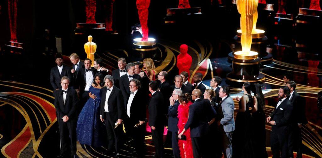 Referencia a la ceremonia de los Óscar 2019 de manera presencial