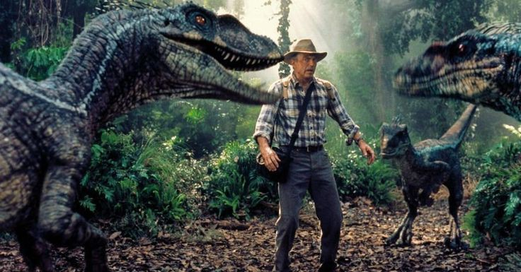 Apoyo visual de Jurassic Park