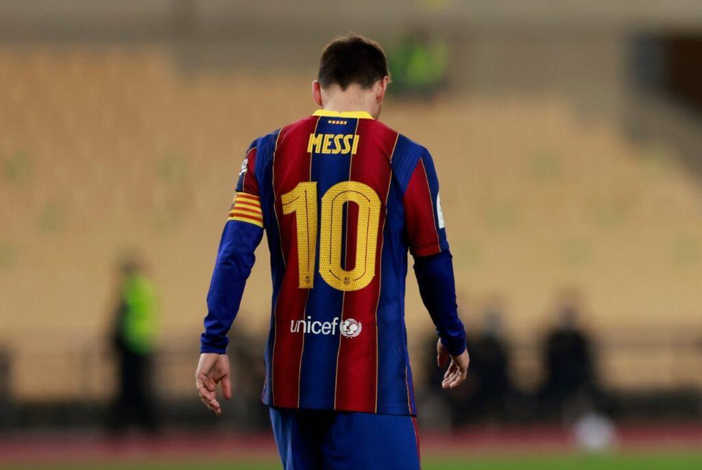 Un Messi frustrado