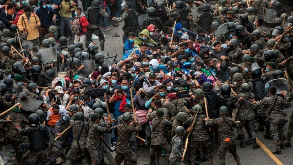 Desalojan a 7 mil hondureños en Guatemala
