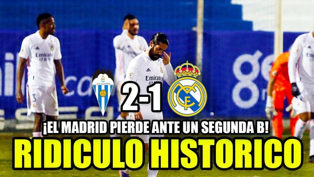 El Real Madrid es eliminado