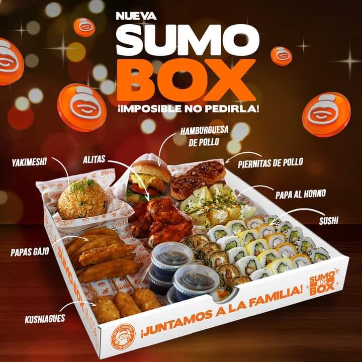 Descripción y detalles de la Sumo Box de Sumo Buffet