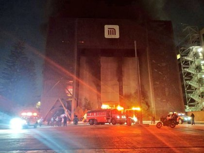 Incendio del metro