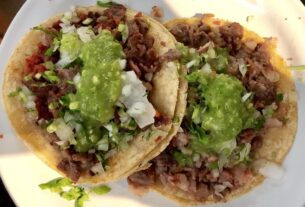 Los tacos para México son cultura
