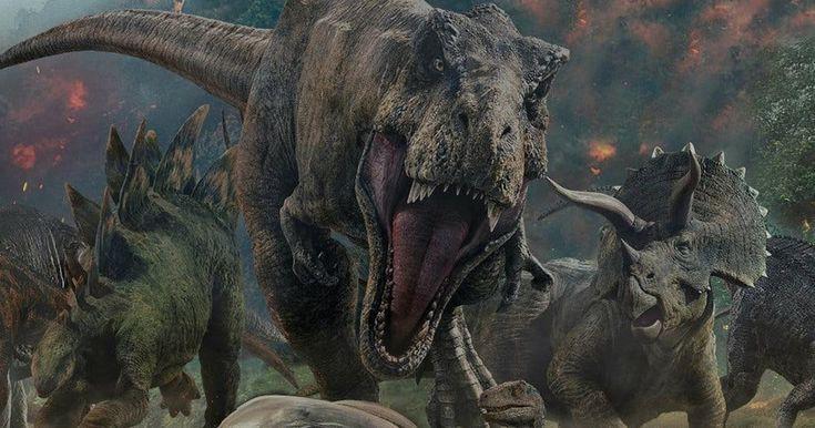 Apoyo visual de Jurassic world