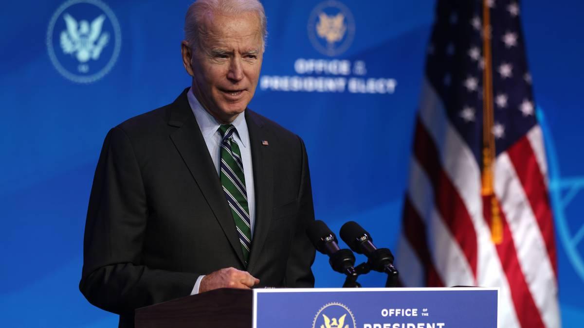 Joe Biden. Nuevo Presidente