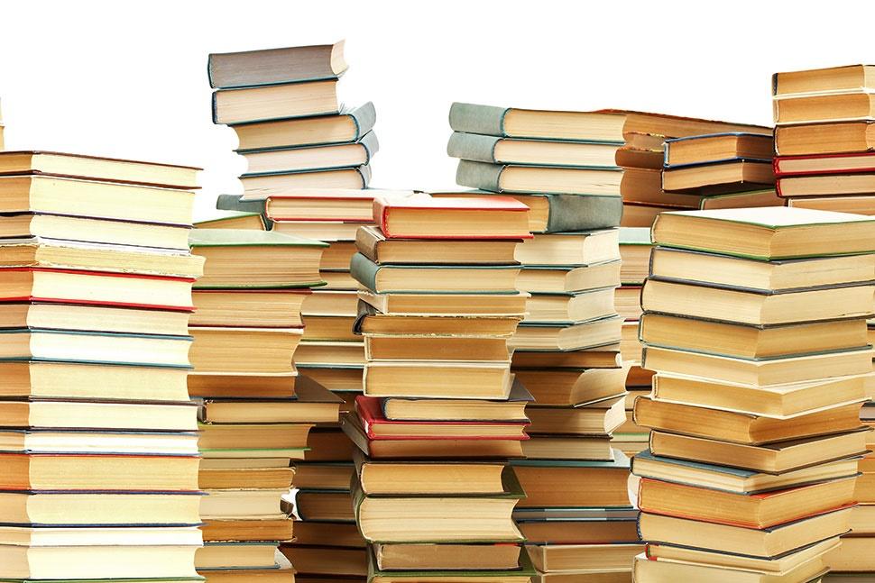 Libros en proceso de desinfeccion