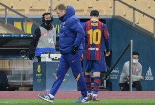 Messi, suspendido