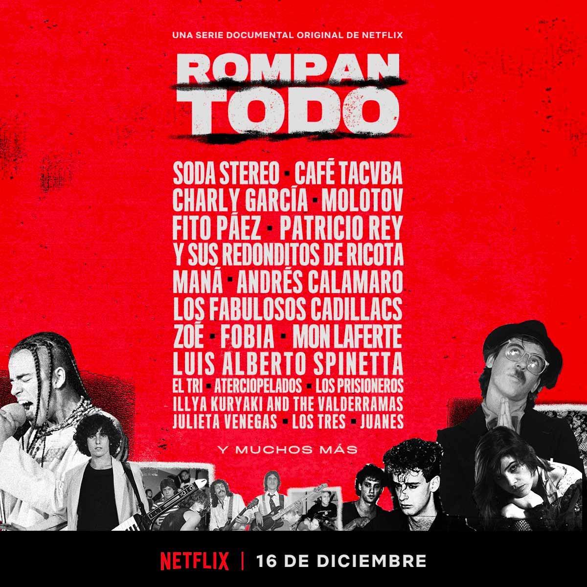 Rompan todo, la resurrección del rock en español