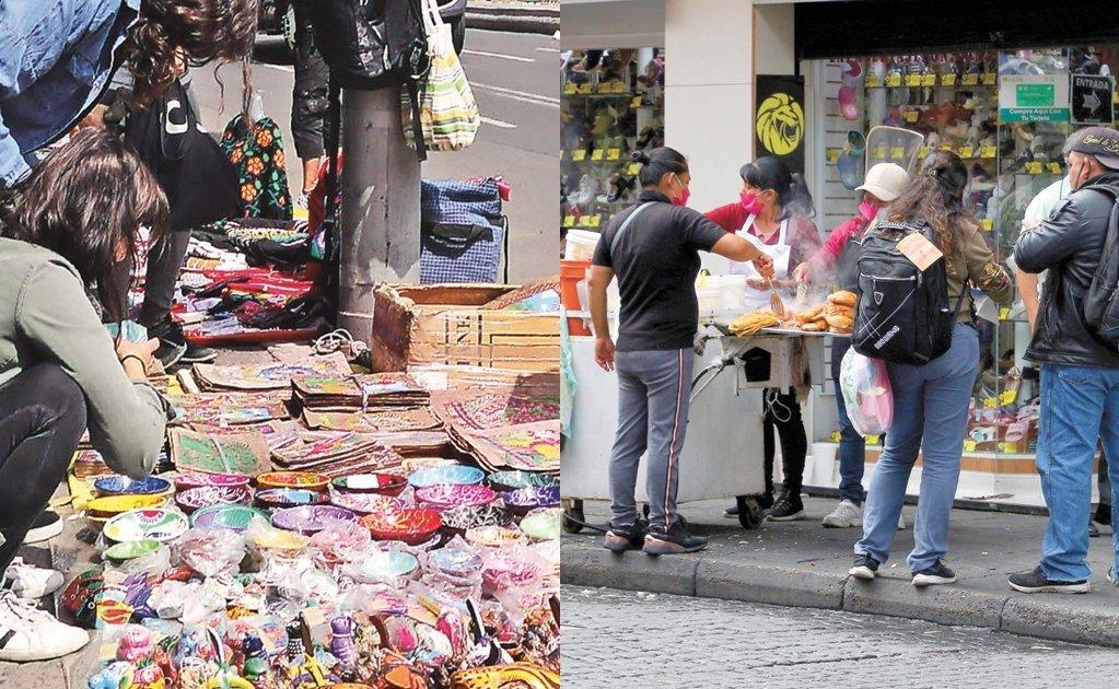 Se desborda el comercio ambulante