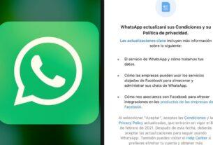 WhatsApp se actualizará