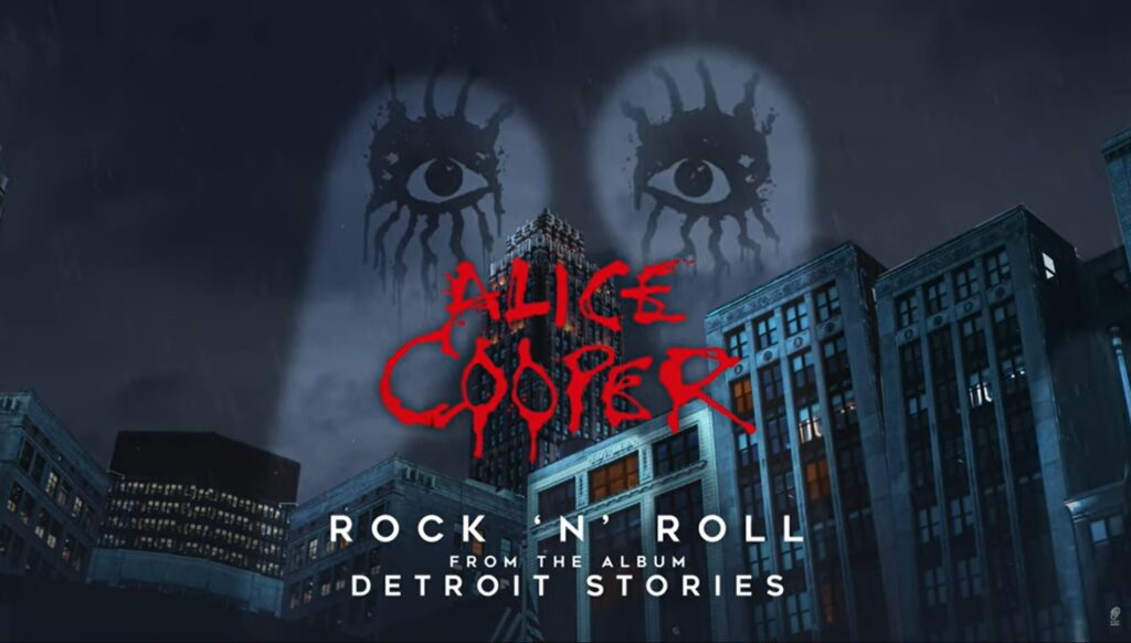 El regreso de Alice Cooper album Detroit Stories